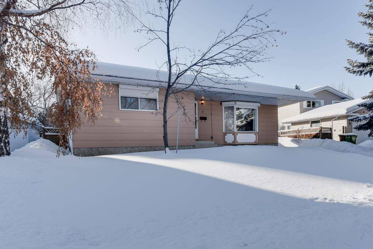 House for sale at 7 Labelle Cres St. Albert Alberta - MLS: E4187822