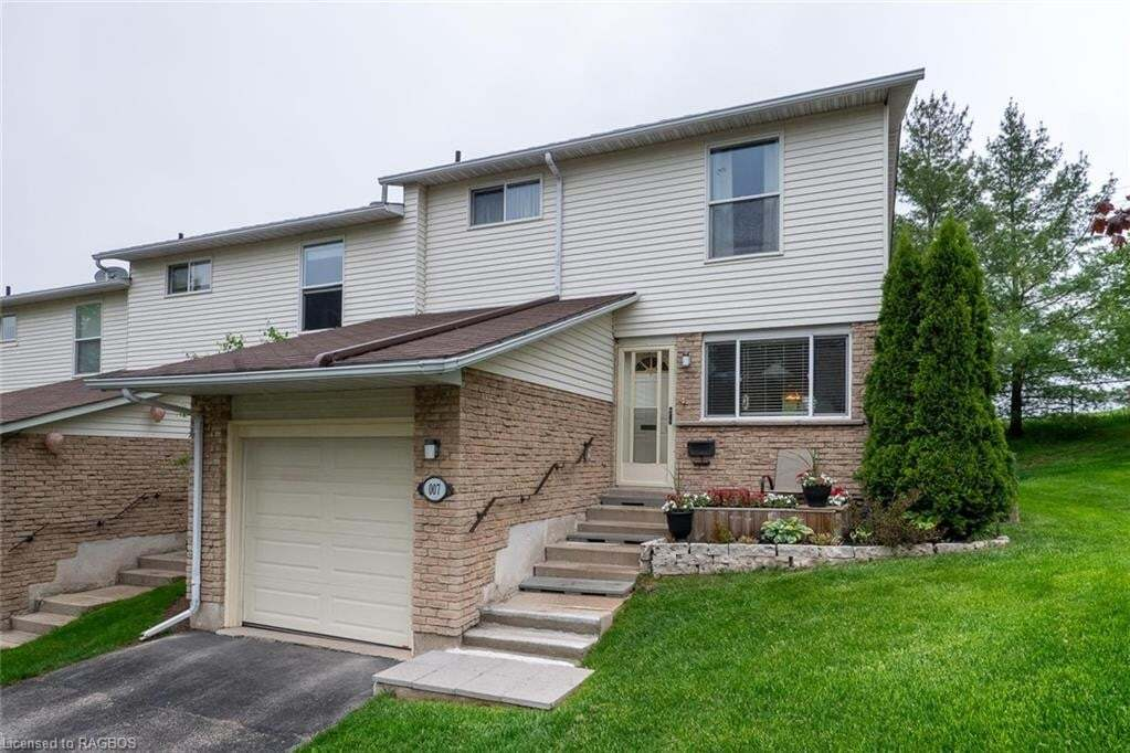 Townhouse for sale at 7 Lamson Cres Owen Sound Ontario - MLS: 261668