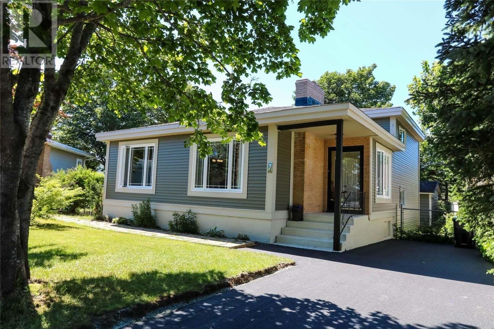 House for sale at 7 Limerick Pl St. John's Newfoundland - MLS: 1217310