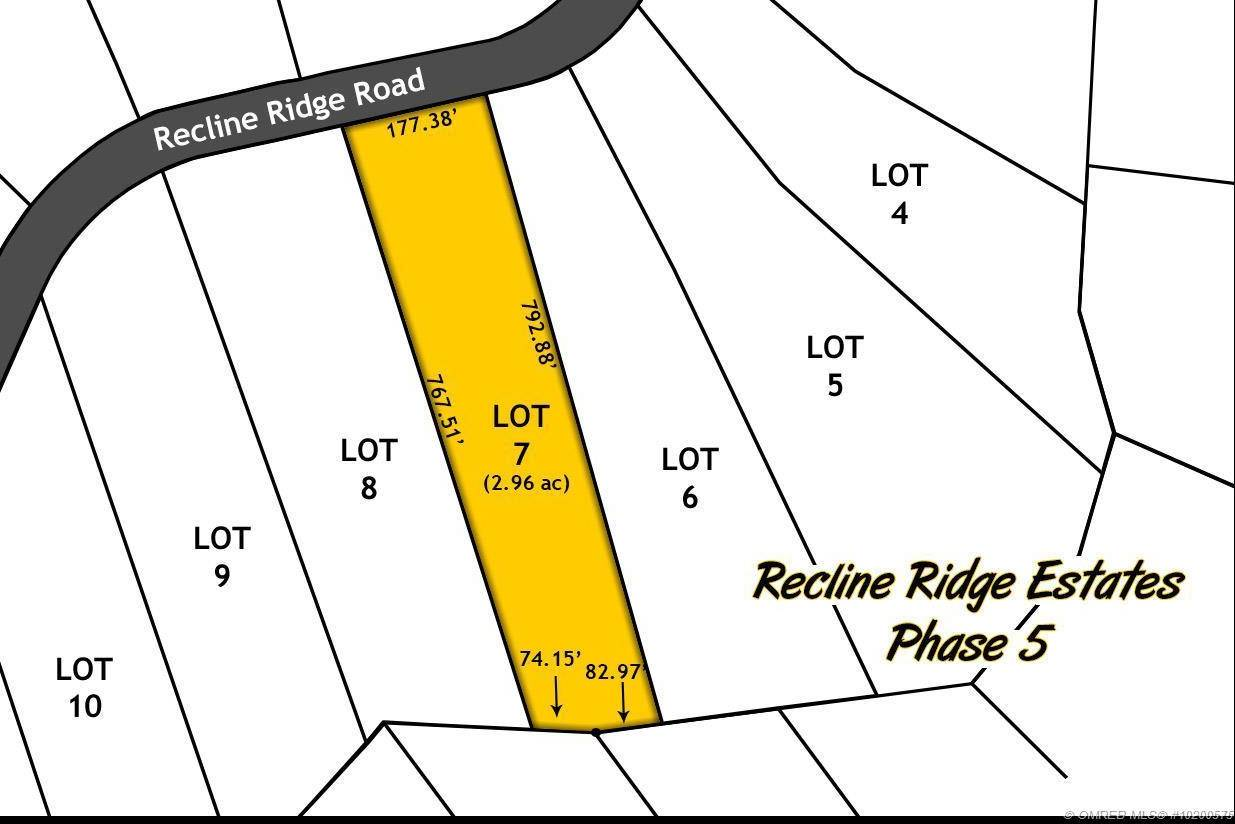 Residential property for sale at Lot 7 Recline Ridge Rd Unit 7 Tappen British Columbia - MLS: 10200575