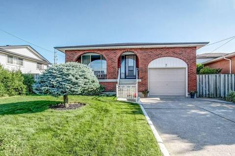 House for sale at 7 Oakland Dr Hamilton Ontario - MLS: H4058023