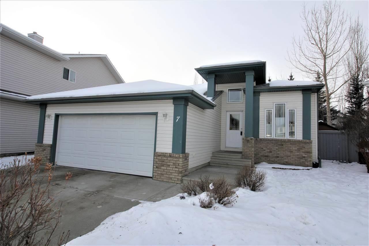 House for sale at 7 Osborne Cs St. Albert Alberta - MLS: E4183520