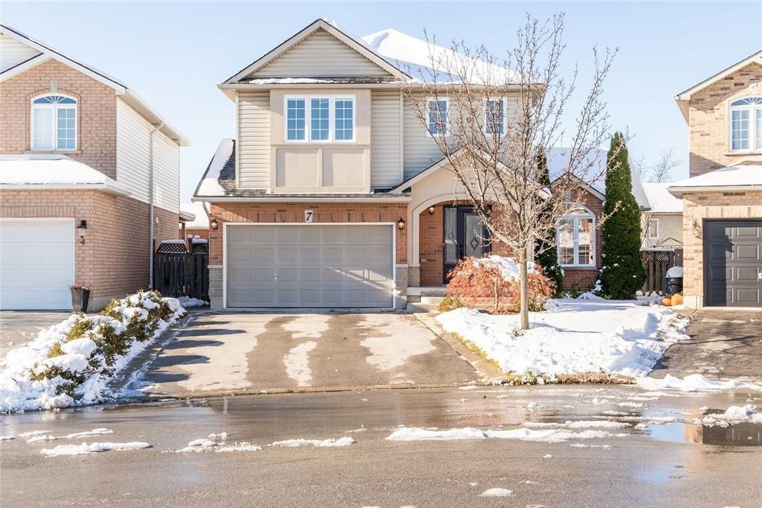 House for sale at 7 Patton Pl Hamilton Ontario - MLS: H4094145