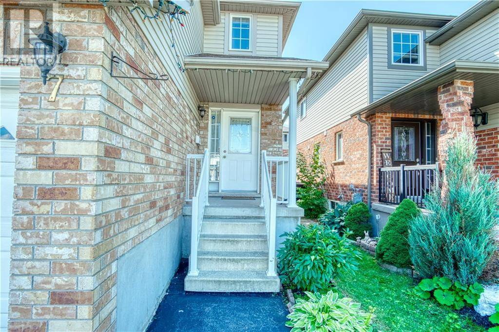 House for sale at 7 Peach Blossom Cres Kitchener Ontario - MLS: 30759581