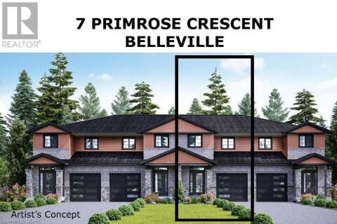 Townhouse for sale at 7 Primrose Cres Belleville Ontario - MLS: 254867
