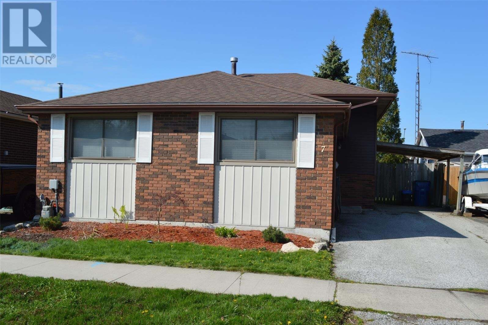 House for sale at 7 Randolf Cres Chatham Ontario - MLS: 20005162