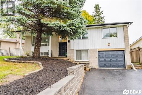 House for rent at 7 Roslyn Rd Barrie Ontario - MLS: 30737014