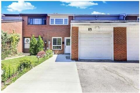 Townhouse for sale at 7 Sachems Pl Toronto Ontario - MLS: E4786560