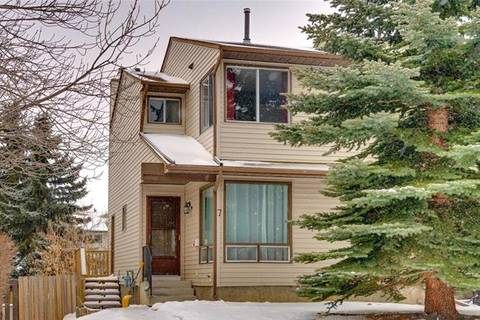Townhouse for sale at 7 Strathcona Cres Southwest Calgary Alberta - MLS: C4291857