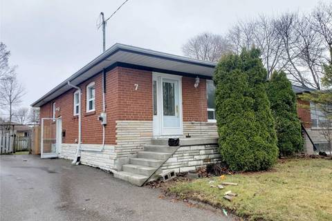 House for sale at 7 Tralee Ave Toronto Ontario - MLS: E4734894