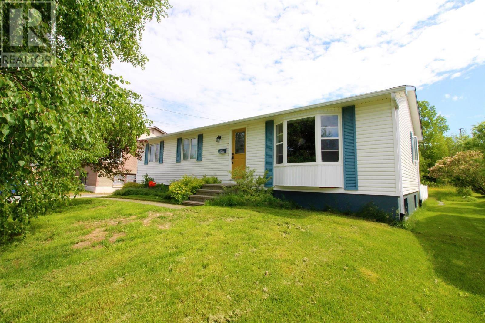 House for sale at 7 Westview Ave Corner Brook Newfoundland - MLS: 1199421