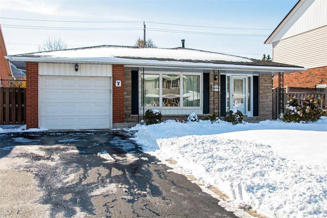 House for sale at 7 Winthrop Pl Stoney Creek Ontario - MLS: H4068198