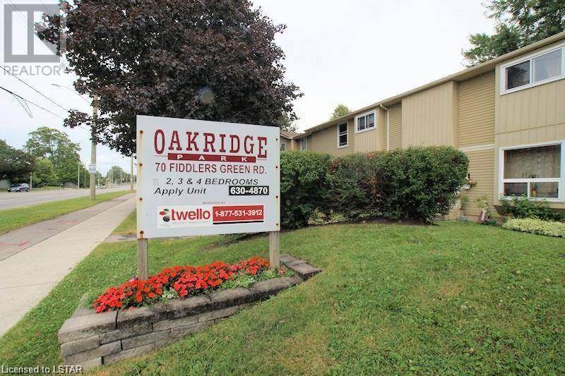 Townhouse for sale at 100 Fiddlers Green Rd Unit 70 London Ontario - MLS: 232295