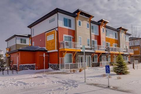 Townhouse for sale at 111 Rainbow Falls Gt Unit 70 Chestermere Alberta - MLS: C4228403