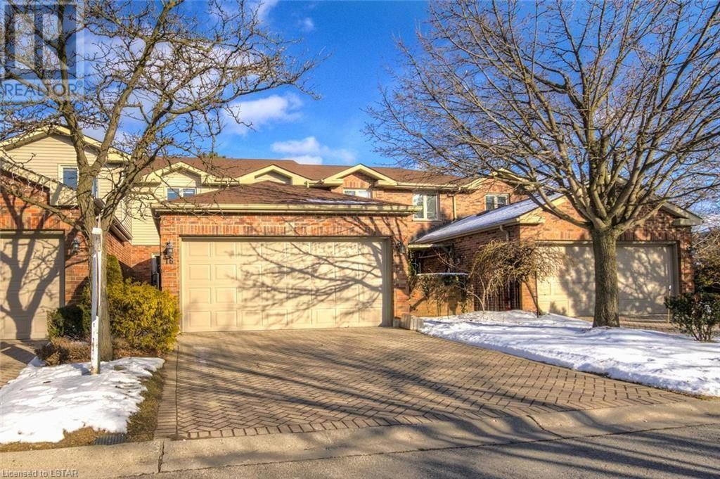 Townhouse for sale at 16 Sunnyside Dr Unit 70 London Ontario - MLS: 245621