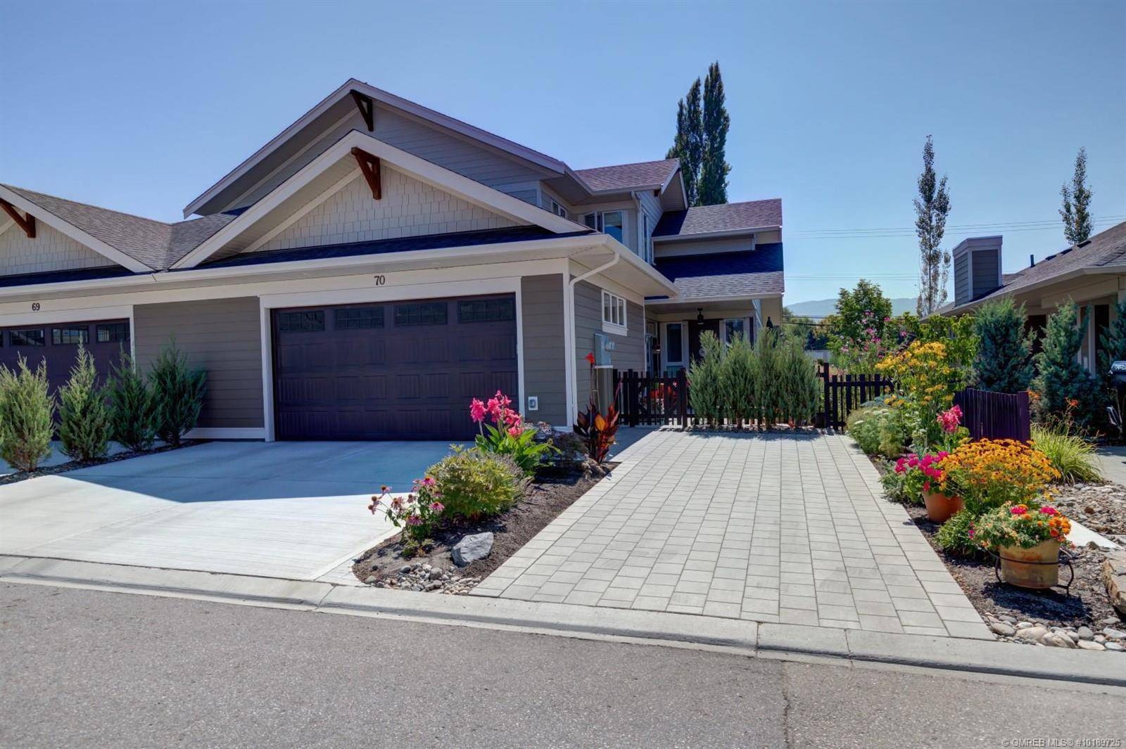 House for sale at 1960 Klo Rd Unit 70 Kelowna British Columbia - MLS: 10189725