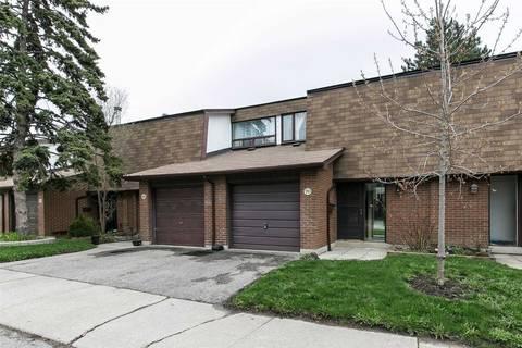 Condo for sale at 600 Silver Creek Blvd Unit 70 Mississauga Ontario - MLS: W4440085