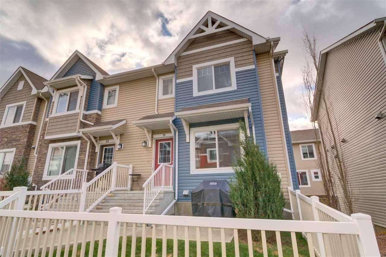 Townhouse for sale at 655 Tamarack Rd Nw Unit 70 Edmonton Alberta - MLS: E4178873