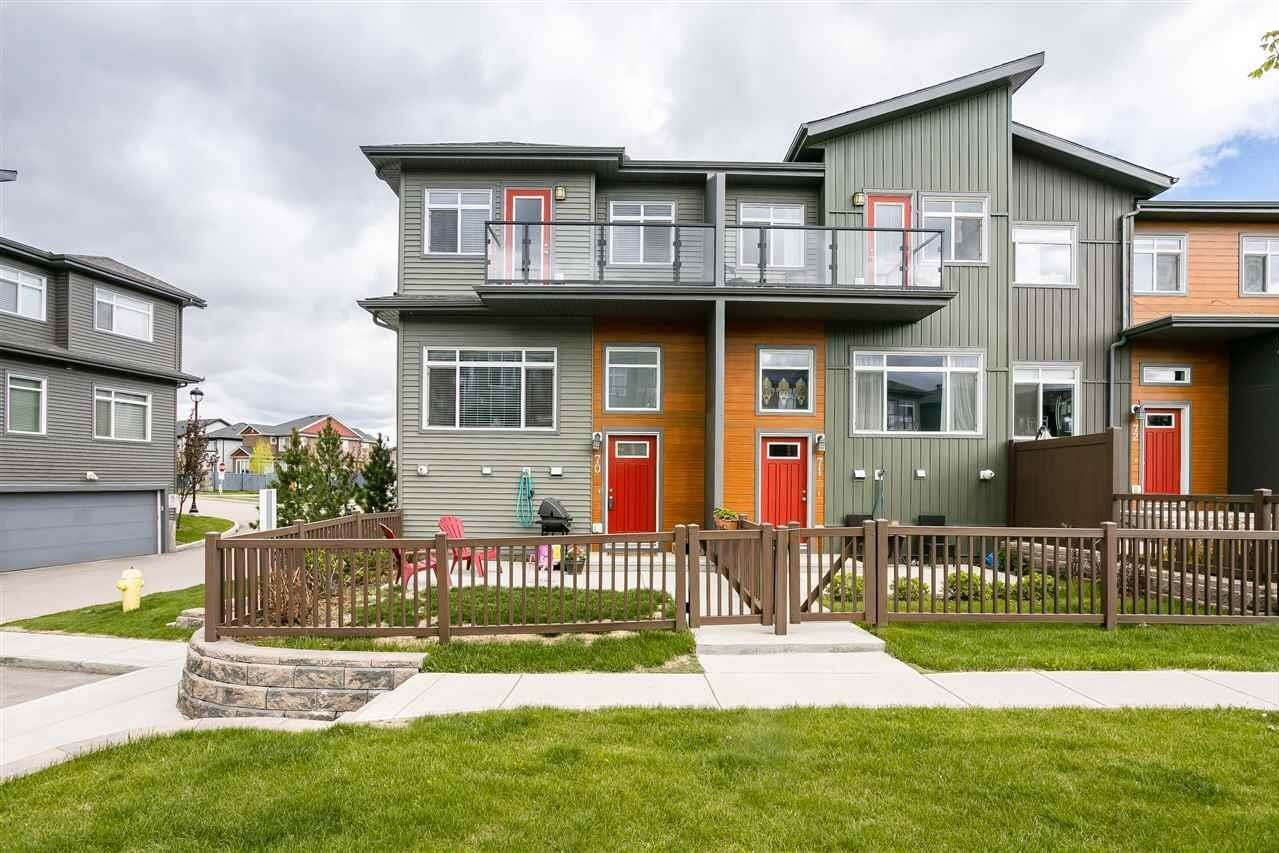 Townhouse for sale at 7503 Getty Ga NW Unit 70 Edmonton Alberta - MLS: E4201862