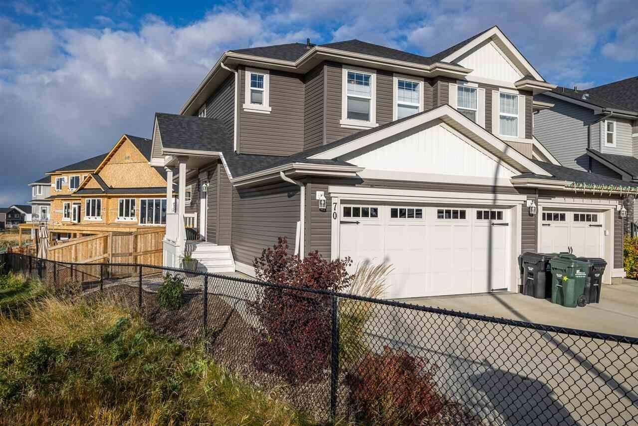 Townhouse for sale at 70 Abbey Rd Sherwood Park Alberta - MLS: E4218223