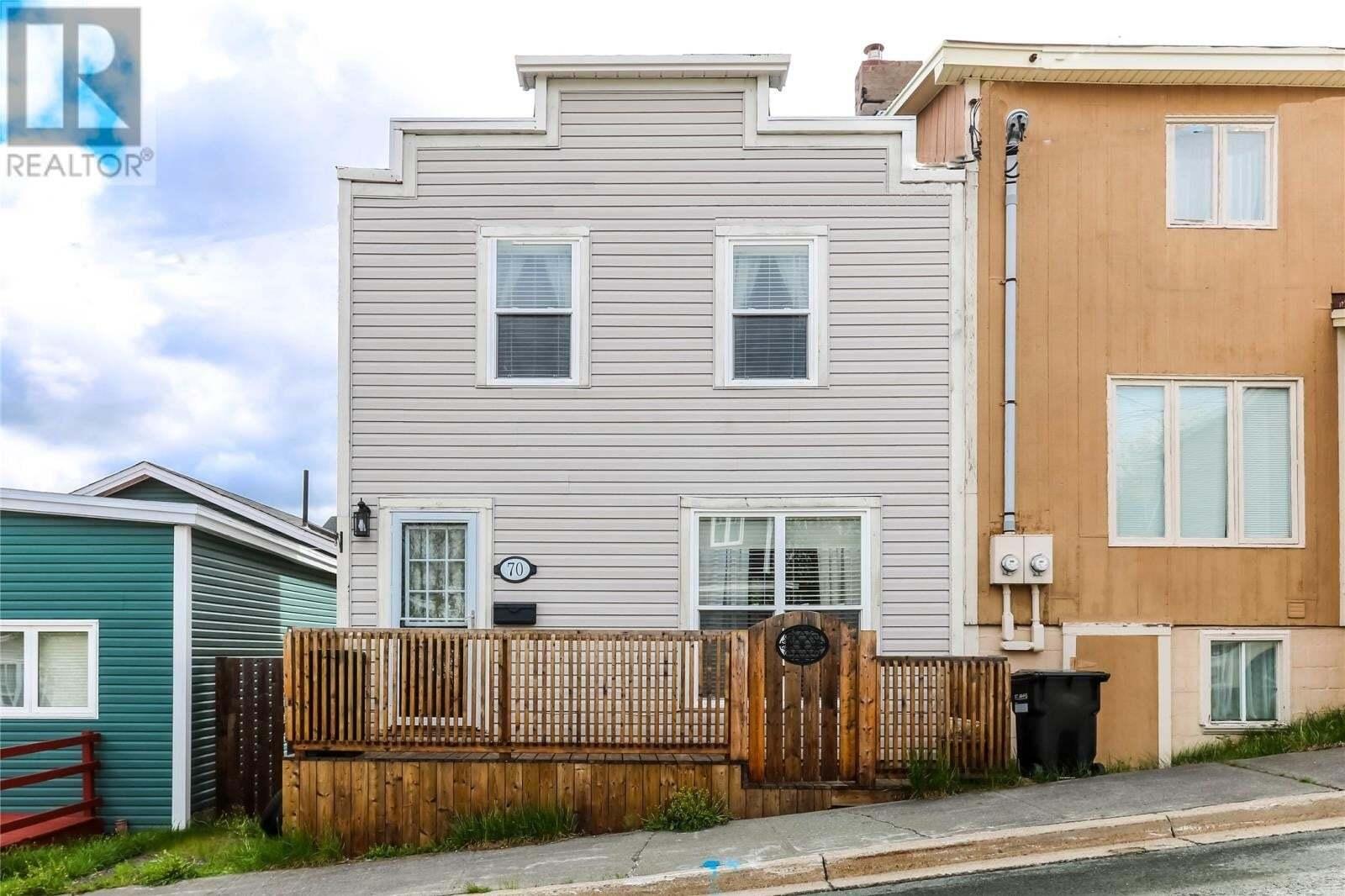 House for sale at 70 Aldershot St St. John's Newfoundland - MLS: 1214732