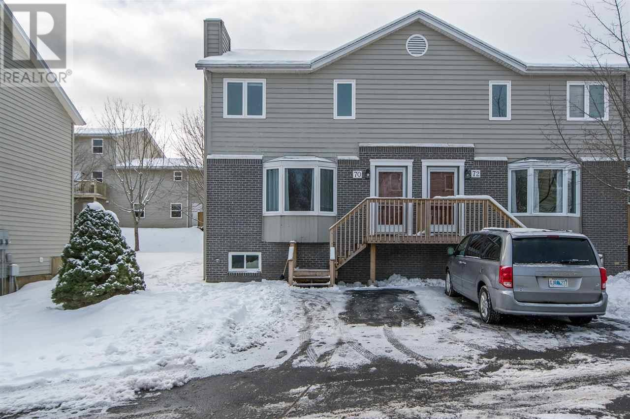 Townhouse for sale at 70 Attenborough Ct Clayton Park Nova Scotia - MLS: 202002786