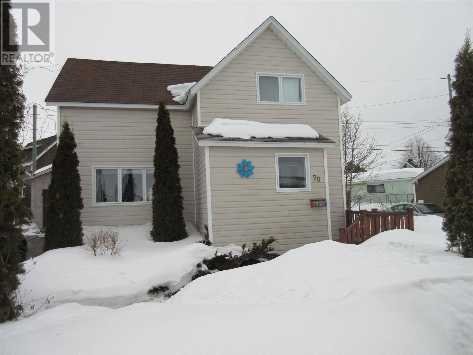 House for sale at 70 Circular Rd Grand Falls-windsor Newfoundland - MLS: 1211906