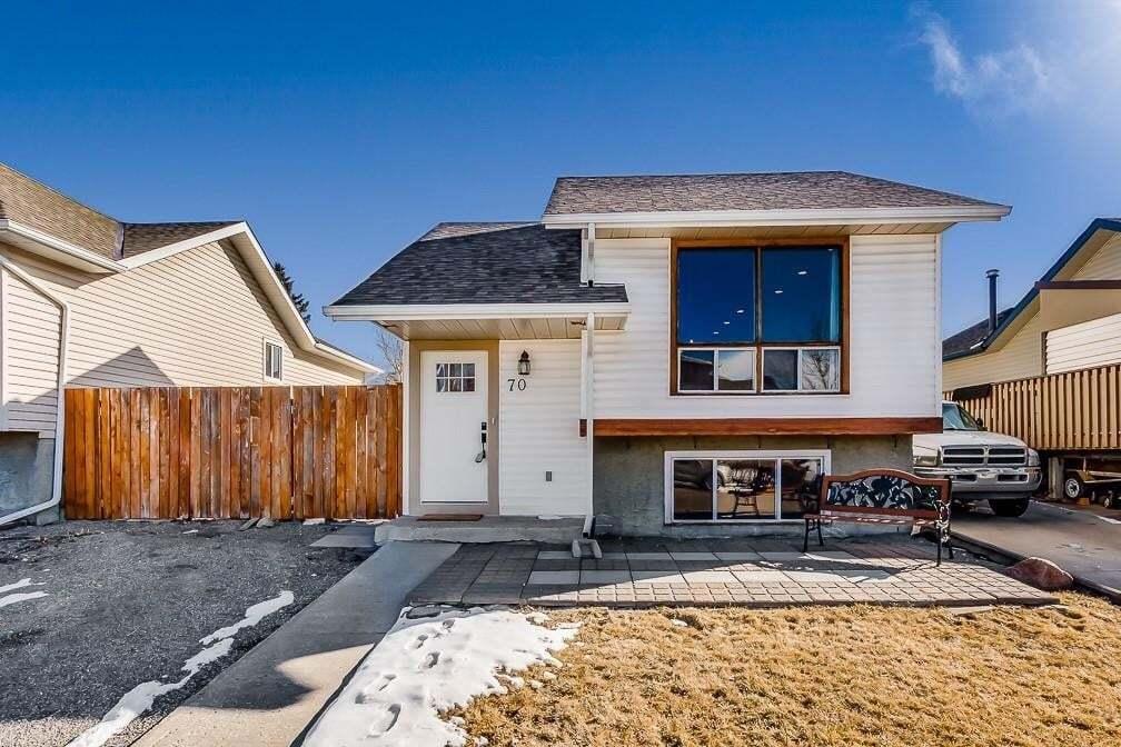 House for sale at 70 Eldorado Rd SE Edgewater, Airdrie Alberta - MLS: C4291856