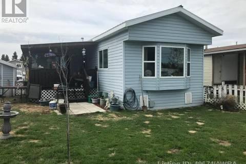 Residential property for sale at 70 Evergreen Mobile Pk Whitecourt Alberta - MLS: 49674