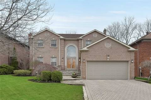 House for sale at 70 Garnier Ct Toronto Ontario - MLS: C4449089