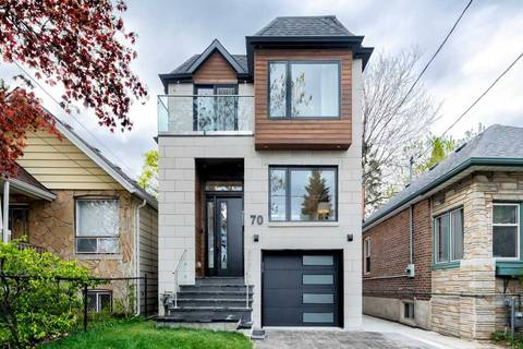 House for sale at 70 Gatwick Ave Toronto Ontario - MLS: E4459245
