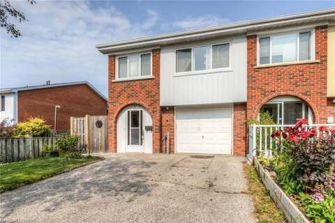 Townhouse for sale at 70 Overlea Dr Kitchener Ontario - MLS: 40023750