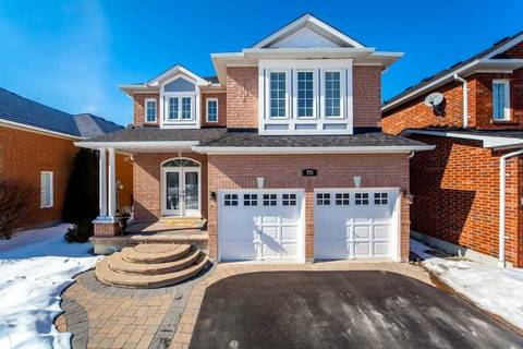 House for sale at 70 Tormina Blvd Whitby Ontario - MLS: E4378438