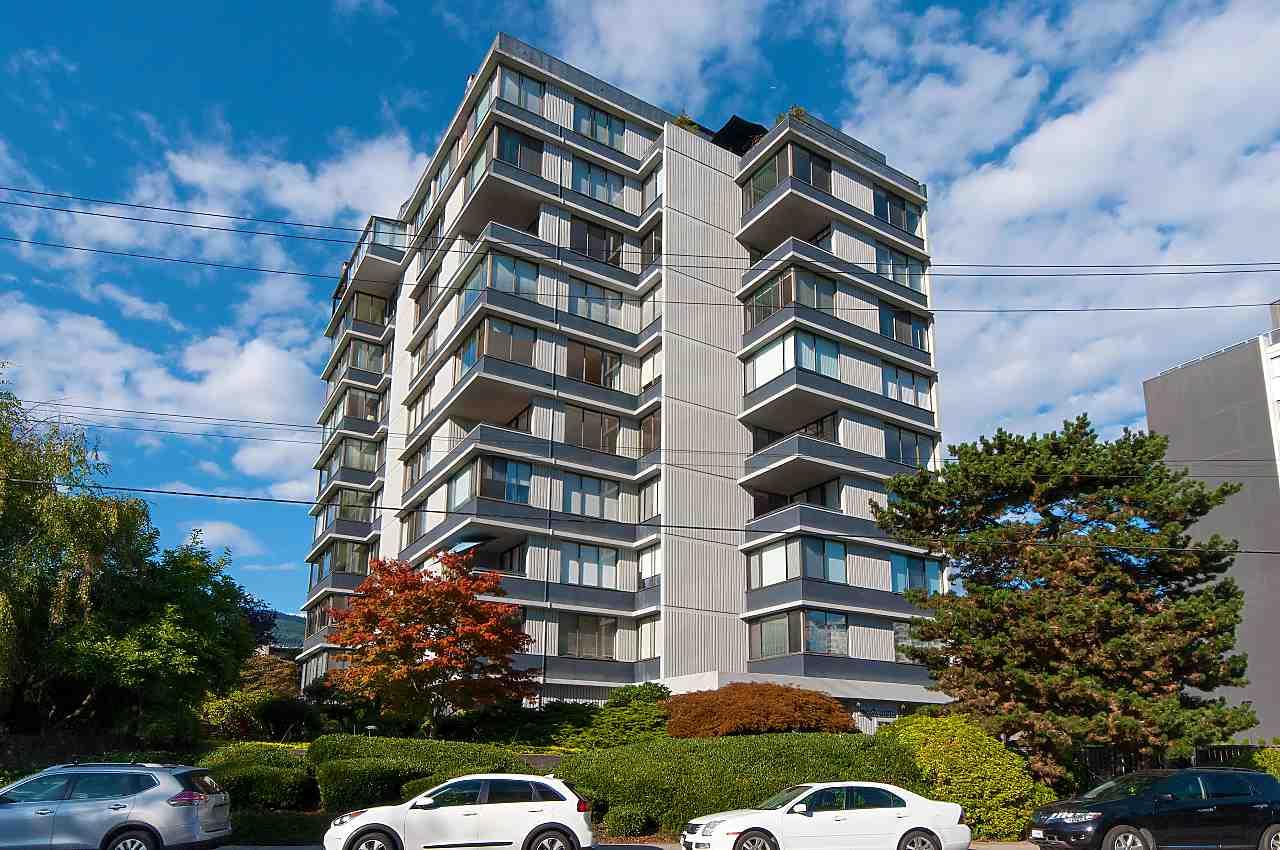 Sold: 701 - 2167 Bellevue Avenue, West Vancouver, BC