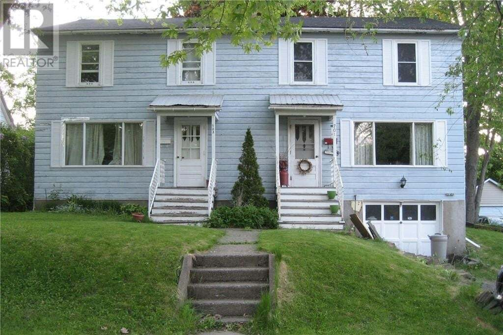 Townhouse for sale at 703 Mitchell St Unit 701 Fredericton New Brunswick - MLS: NB050736