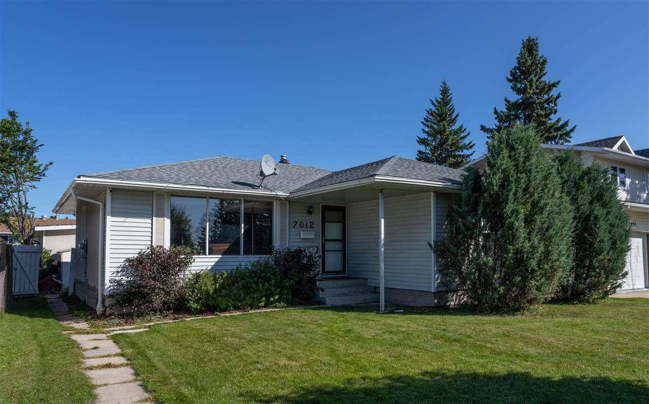 House for sale at 7012 138 Ave Nw Edmonton Alberta - MLS: E4172686