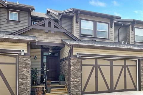 Townhouse for sale at 110 Coopers Common Southwest Unit 702 Airdrie Alberta - MLS: C4232748