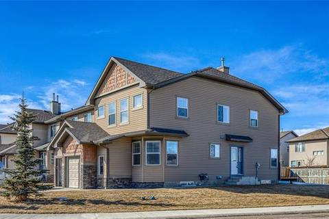 Townhouse for sale at 702 Luxstone Gt Southwest Airdrie Alberta - MLS: C4292439