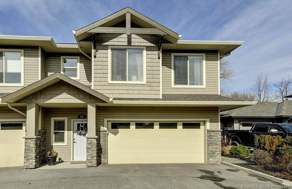 Townhouse for sale at 3350 Woodsdale Rd Unit 703 Lake Country British Columbia - MLS: 10201591