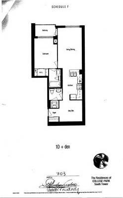 Apartment for rent at 761 Bay St Unit 703 Toronto Ontario - MLS: C4556307
