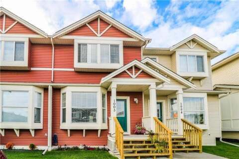 Townhouse for sale at 703 Luxstone  Sq SW Airdrie Alberta - MLS: A1022389
