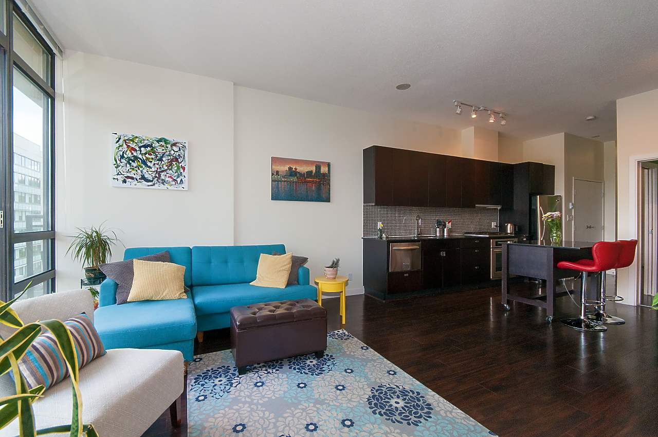 For Sale: 704 - 121 Brew Street, Port Moody, BC | 1 Bed, 1 Bath Condo for $528,000. See 20 photos!