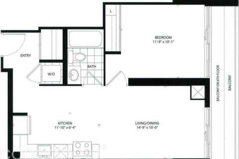 Apartment for rent at 1486 Bathurst St Unit 704 Toronto Ontario - MLS: C4812555