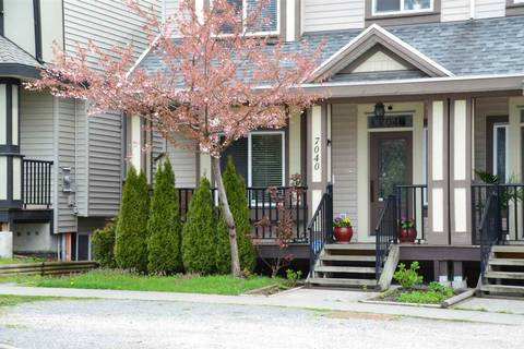 Townhouse for sale at 7040 144 St Surrey British Columbia - MLS: R2357275
