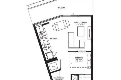 Apartment for rent at 125 Peter St Unit 705 Toronto Ontario - MLS: C4555237