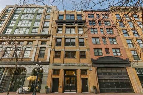 Condo for sale at 27 Alexander St Unit 705 Vancouver British Columbia - MLS: R2345548