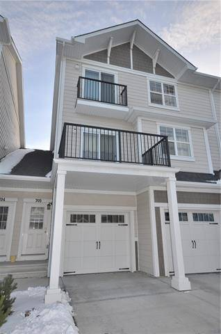 Townhouse for sale at 881 Sage Valley Blvd Northwest Unit 705 Calgary Alberta - MLS: C4274776