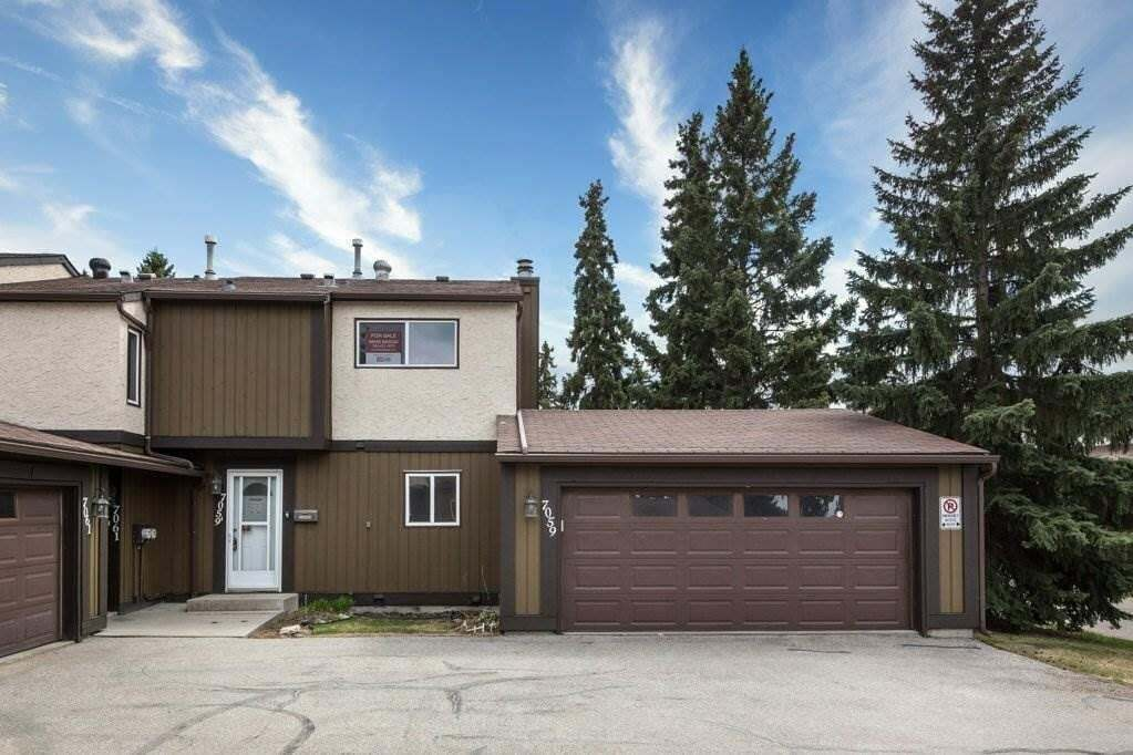 Townhouse for sale at 7059 32 Av NW Edmonton Alberta - MLS: E4197644