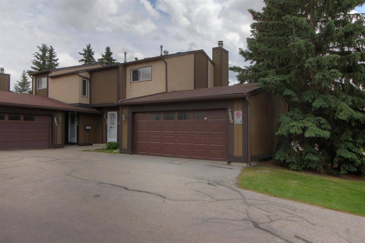 Townhouse for sale at 7059 32 Ave Nw Edmonton Alberta - MLS: E4176646