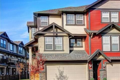 Townhouse for sale at 1086 Williamstown Blvd Northwest Unit 706 Airdrie Alberta - MLS: C4284994